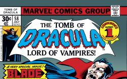 Tomb of Dracula (1972) #58 Cover