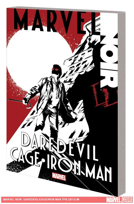 MARVEL NOIR: DAREDEVIL/CAGE/IRON MAN TPB