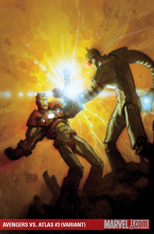 Avengers Vs. Atlas (2010) #3 (VARIANT)