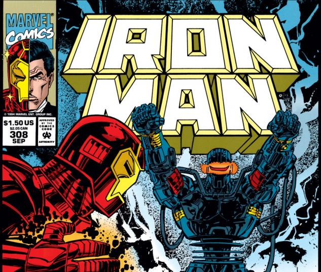 Iron Man (1968) #308 Cover