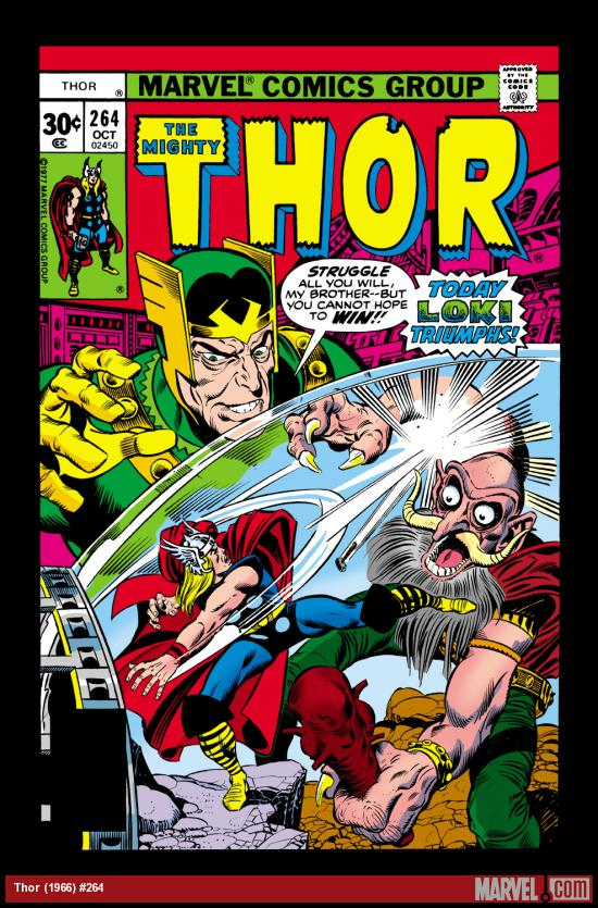 Thor (1966) #264 Cover