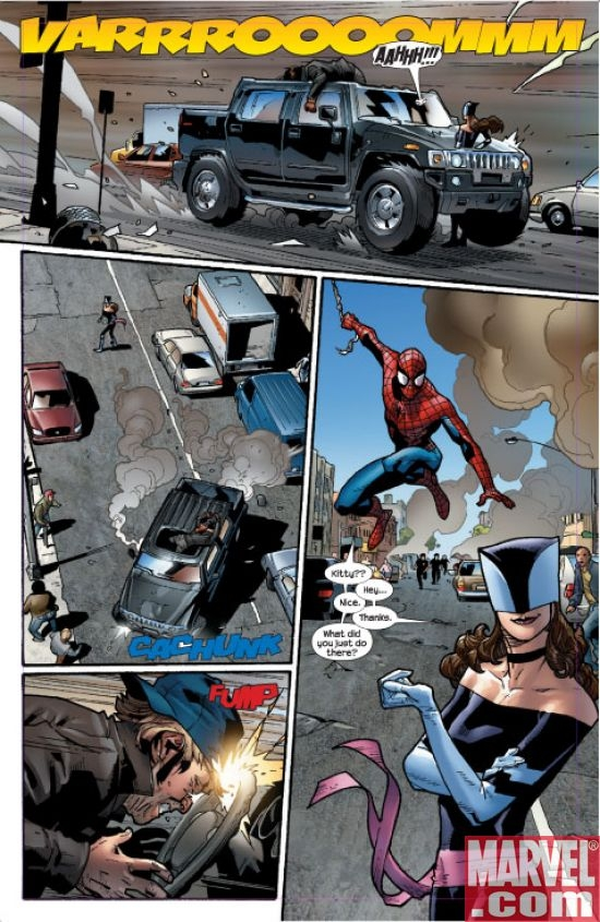 Ultimate Spider-Man #112 interior art