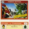 Iron Man vs. Titanium Man, Card #121