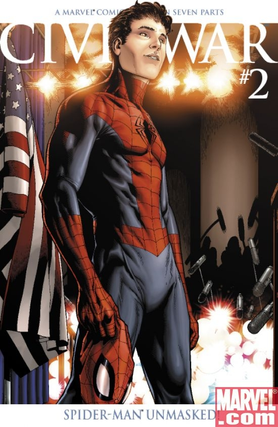 Civil War #2 2nd Printing