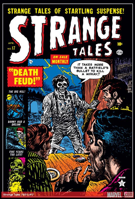 Strange Tales (1951) #17 Cover