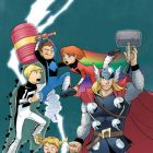 Thor Meets Power Pack