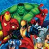 Image Featuring Captain America, Hulk, Iron Man, Spider-Man, Thor