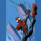 Ultimate Spider-Man #75 cover by Mark Bagley