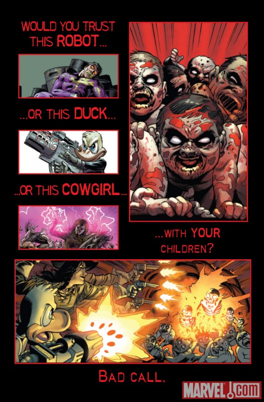 MARVEL ZOMBIES 5 #3 recap page