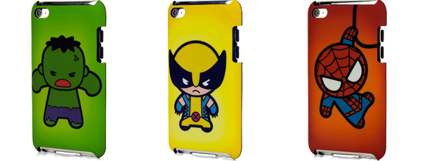 Marvel Swag: PDP Marvel Kawaii iPod Cases