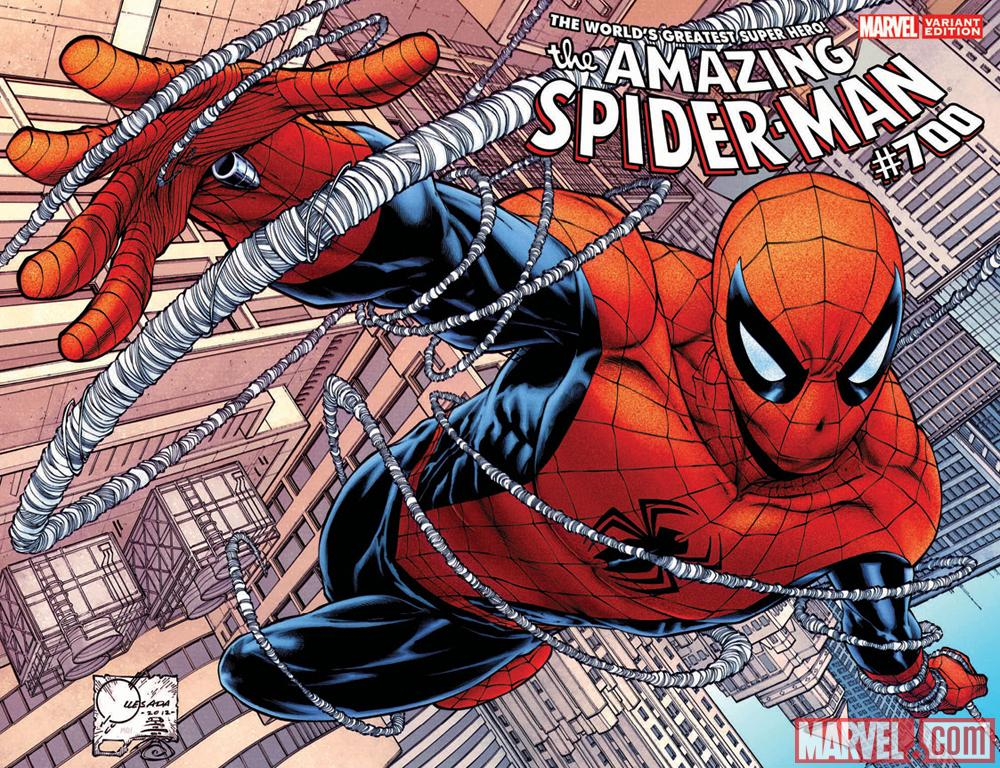 Amazing Spider-Man #700 cover by Joe Quesada