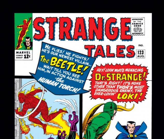 Strange Tales #123