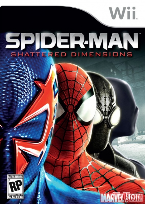 Spider-Man: Shattered Dimensions Wii box art