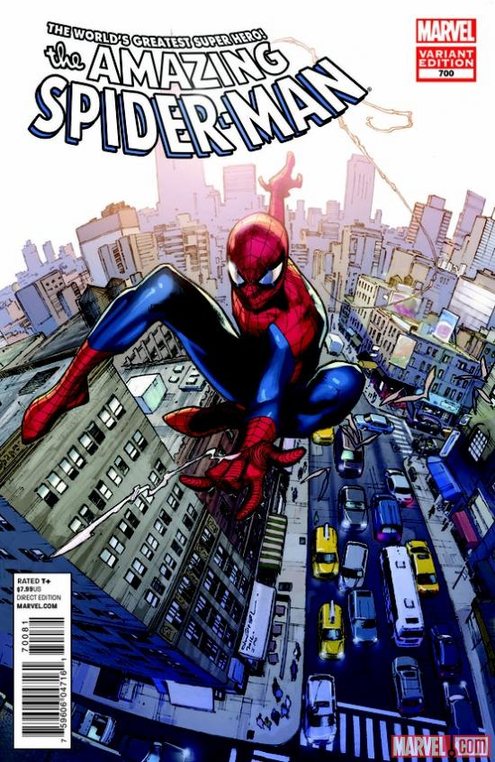 Preview of Amazing Spider-Man #700