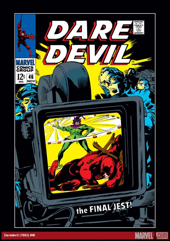 Daredevil (1963) #46 Cover