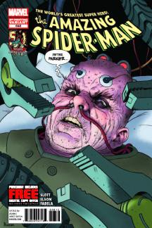 Amazing Spider-Man (1999) #698 (2nd Printing Variant)