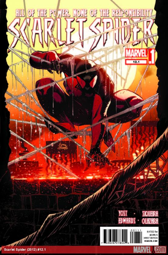 SCARLET SPIDER 12.1