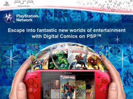 Marvel Digital Comics on PSP