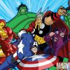 Image Featuring Captain America, Hawkeye, Hulk, Iron Man