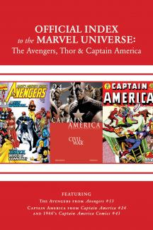 Avengers, Thor & Captain America: Official Index to the Marvel Universe #14