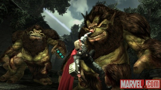 Thor: God of Thunder screenshot - Thor vs. trolls