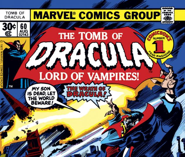 Tomb of Dracula (1972) #60 Cover