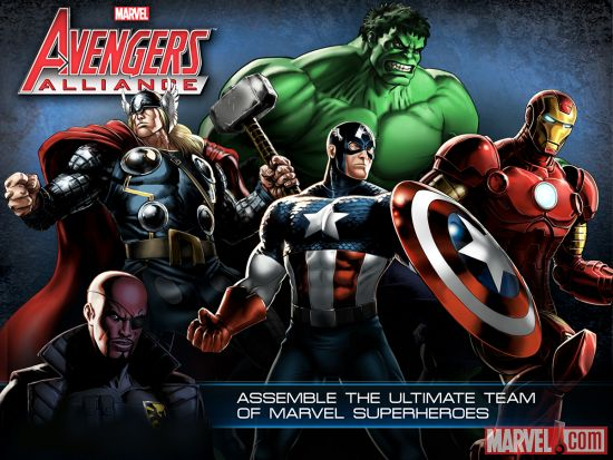 Assemble the ultimate team of super heroes in Marvel Avengers Alliance, now available on iOS devices