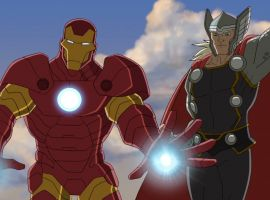 Iron Man and Thor in Marvel's Avengers Assemble - By the Numbers