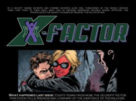 X-Factor #47, intro page