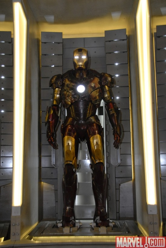 Iron Man Mark III Battle Ravaged Armor