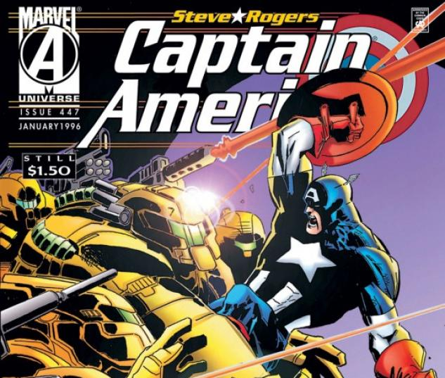 CAPTAIN AMERICA #447 COVER