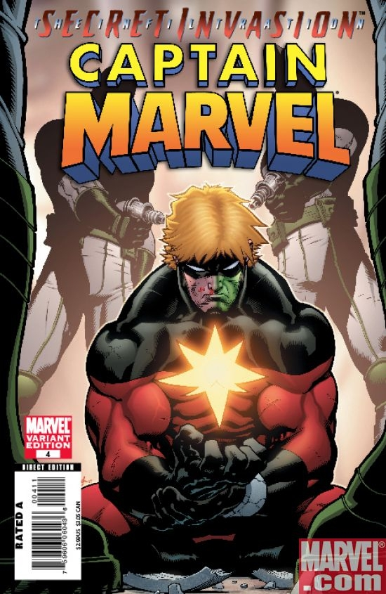 Captain Marvel #4 (Skrull var.)