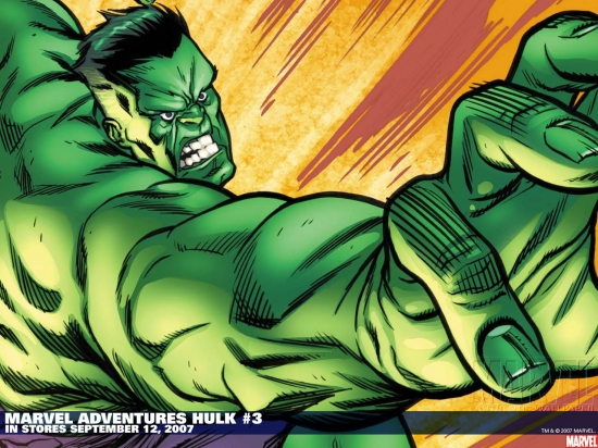 Marvel Adventures Hulk (2007) #3 Wallpaper