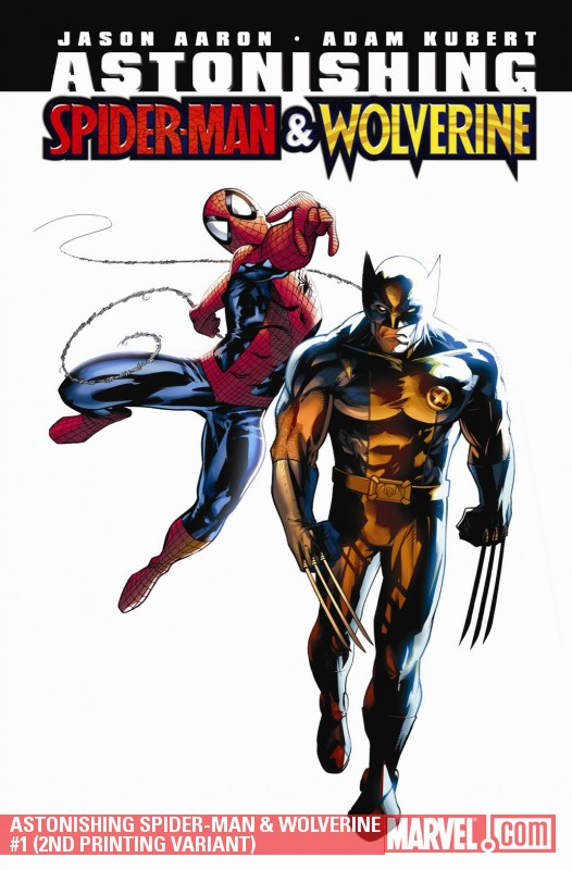 Astonishing Spider-Man/Wolverine (2010) #1 (2ND PRINTING VARIANT)
