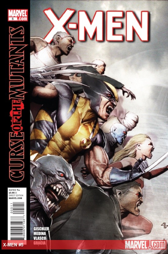 X-MEN #5 cover by Adi Granov