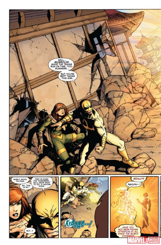 Avengers VS. X-Men #10 preview art by Adam Kubert