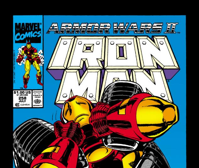 Iron Man (1968) #258 Cover