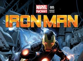 cover from Iron Man (2012) #5 (TBD ARTIST VARIANT)