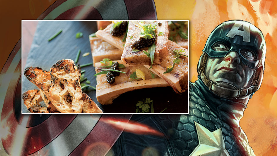 Big Game Bites: Black Widow's Marrow & Caviar