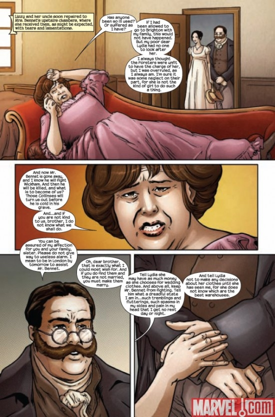 PRIDE AND PREJUDICE #5, page 3