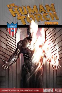Human Torch Comics 70th Anniversary Special (2009) #1