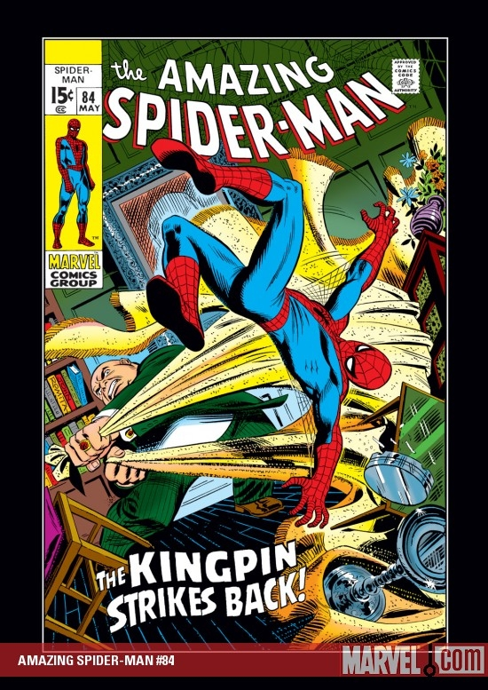 AMAZING SPIDER-MAN #84