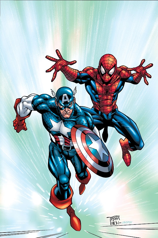 MARVEL AGE SPIDER-MAN TEAM-UP (2005) #2 COVER