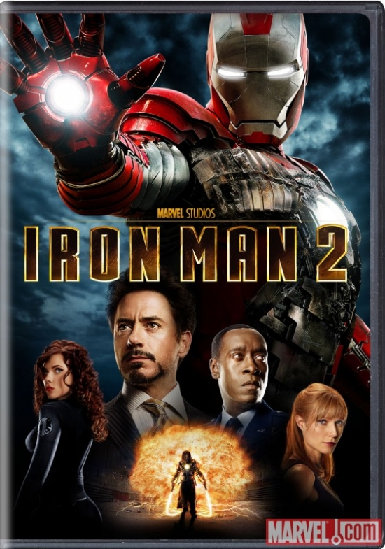 Iron Man 2 single-disc DVD