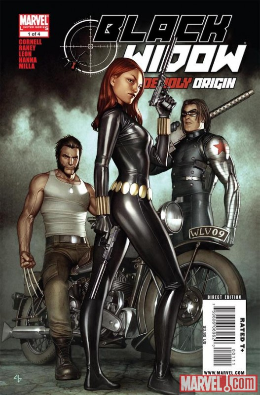 BLACK WIDOW: DEADLY ORIGIN #1 cover by Adi Granov
