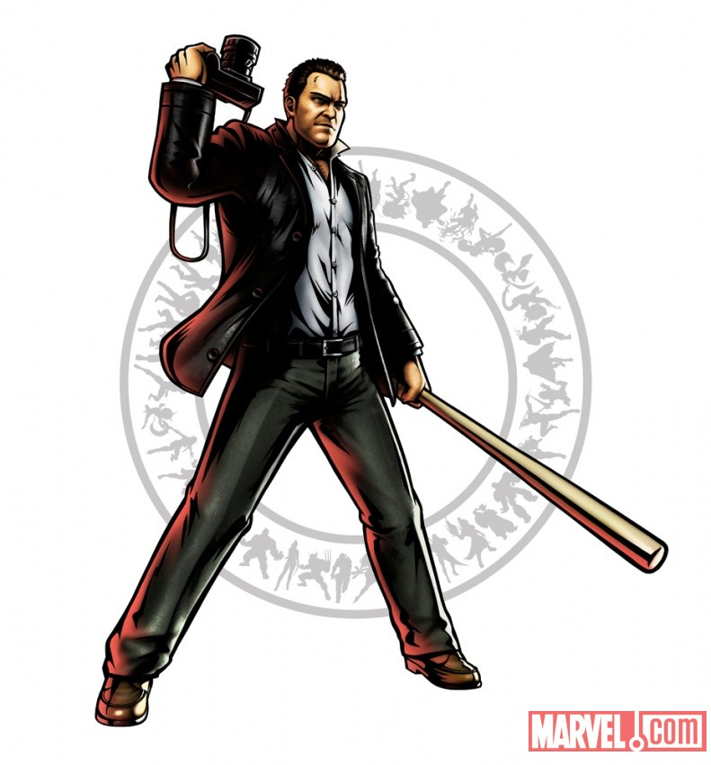 Ultimate Marvel vs. Capcom 3- Frank West Character Art