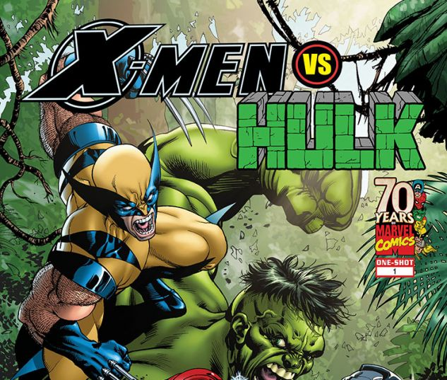 X-Men Vs. Hulk (2009) #1