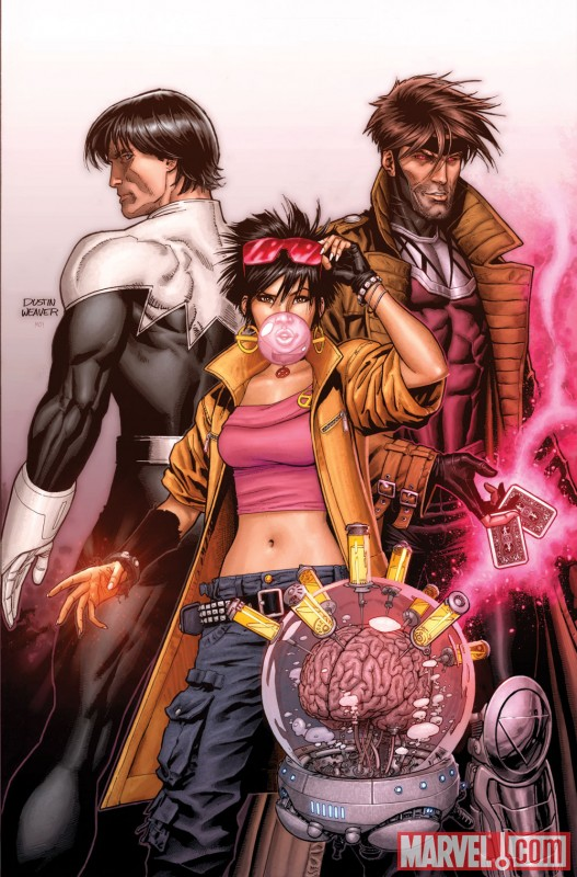 Image Featuring Gambit, Jubilee