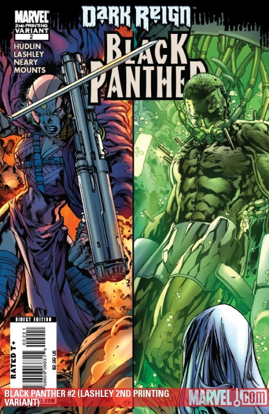 BLACK PANTHER #2 (LASHLEY 2ND PRINTING VARIANT)