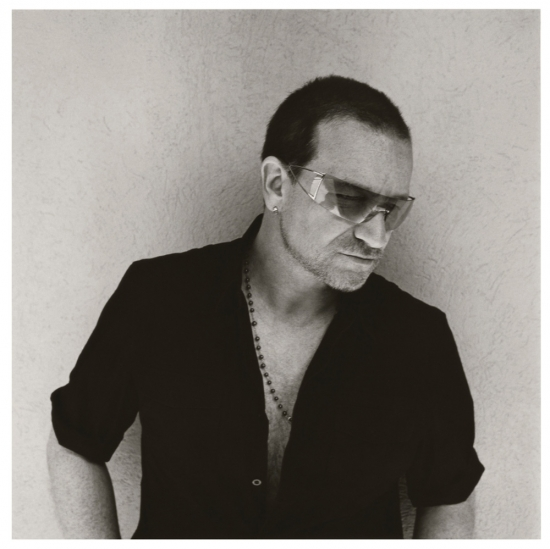 Bono (photo by Kevin Davies)